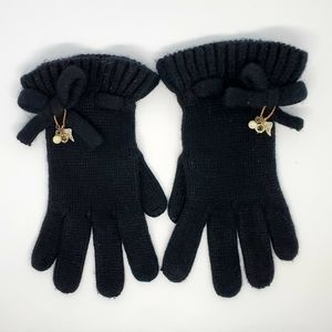 Juicy Couture Cashmere Gloves with Charms.
